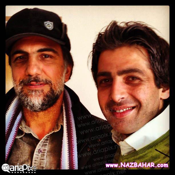 جدیدترین عکس های حمید گودرزی,عکس حمید گودرزی و حسن فتحی (کارگردان)