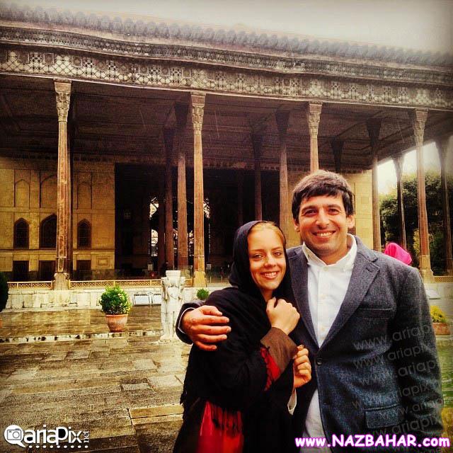 جدیدترین عکس از حمید گودرزی و همسرش ماندانا دانشور
