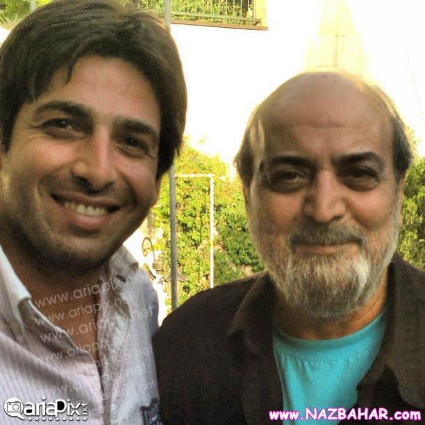 جدیدترین عکس های حمید گودرزی,عکس حمید گودرزی و سیروس مقدم (کارگردان)